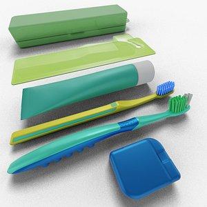brush teeth model