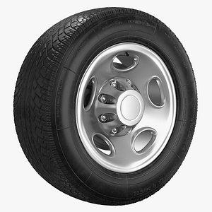 3D Truck Wheel