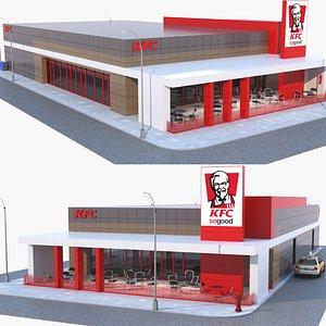 3D restaurant kfc