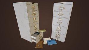 vintage cabinet 3D