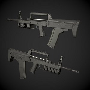 3D model A91 Bullpup Rifle