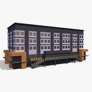 3D Commercial Building 006