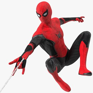 3D Spider Man Firing Web