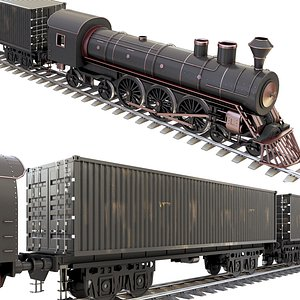 3D Container Train