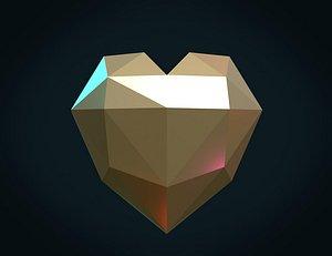 hart heart 3D model