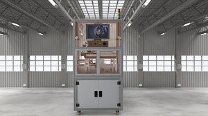 3D Double station CCD detection machine