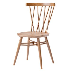 3D shalstone dining furniture chair model