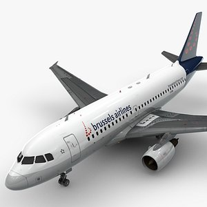 AirbusA319-100BRUSSELS AirlinesL1396 model
