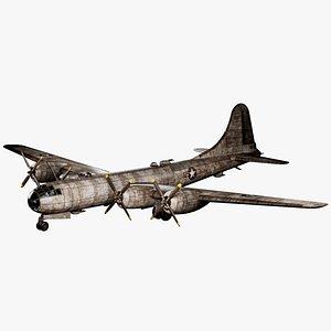 B-29 Superfortress 3D