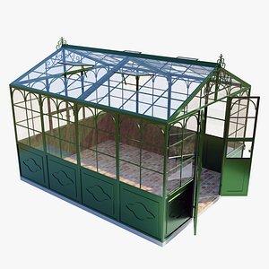 3D italian style greenhouse