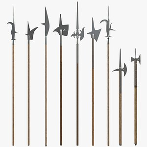 Medieval Polearms model