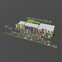 LowPoly City Pack