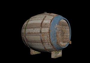 barrel industrial container model