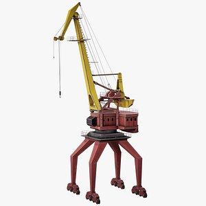 crane port 3D model