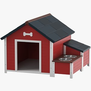 Dog House 02 3D model