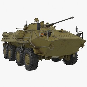 btr-90 rostok vehicle 3D model