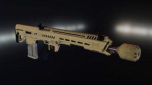 3D Beretta RM277 GD NGSW