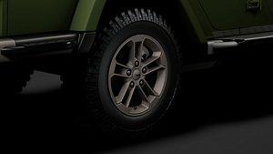3D jeep gladiator 75th
