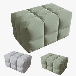 armchair inattesa 3D model