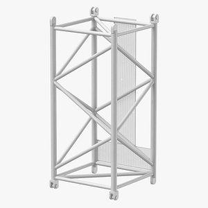 crane s intermediate section 3D