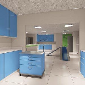 Vet Clinic 3D model