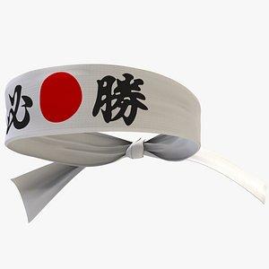 3D model Headband Nippon