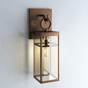 3D Hinkley Lisa McDennon Porter 1 Light model