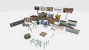 Miscellaneous pack 3D model