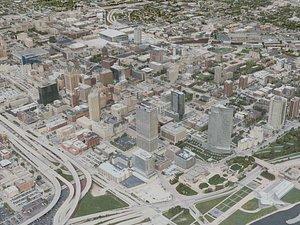 milwaukee city 3D model