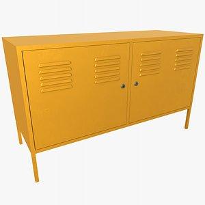 Cabinet 3 With PBR 4K 8K 3D model