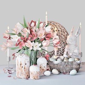 3D Easter set