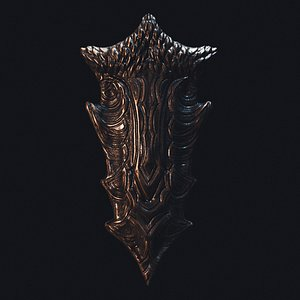 Dragonborn Shield 3D model
