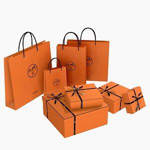box hermes gift model
