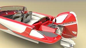 ft sportboat w 3D
