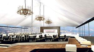 3D event tent