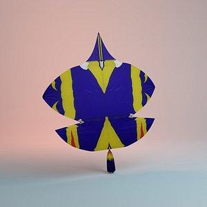 Kite Tukal 3D model