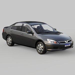 3D Honda Accord 2007 model