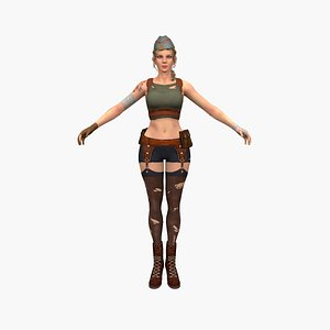 Jessica 3D model