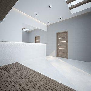 3D Interior 02 model