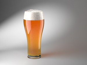 3D Animated Beer model