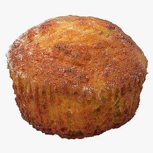 Realistic Muffin 3D model