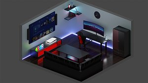 oyuncu oda 3D