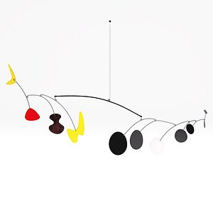 Alexander Calder Untitled1939 3D model