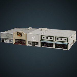 3D Buildings Collection 1