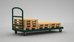 Transport Trolley 3D model