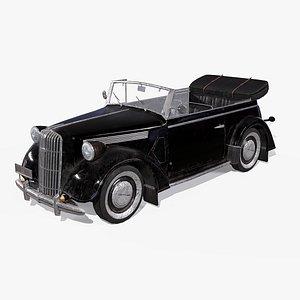 3D 6 car opel super model
