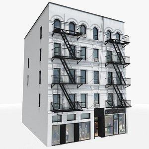 3D model Manhattan Building 03, 8K PBR Textures