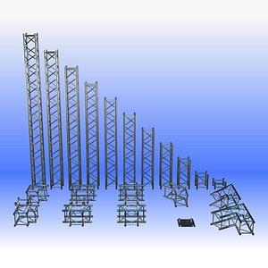 3D model truss 390