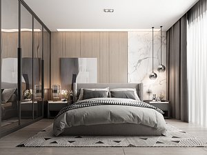 3D model interior - modern style
