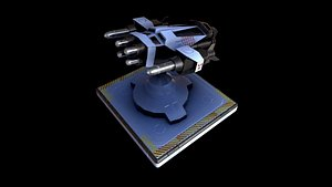 turret pbr unity 3D